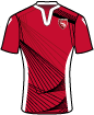 Morecambe Football Club shirt