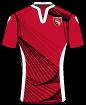 Morecambe Football Club shirt