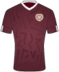 Heart of Midlothian Football Club shirt