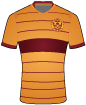 Motherwell Football Club shirt