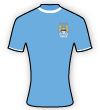 Manchester City Women Football Club shirt