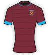 West Ham United WFC shirt