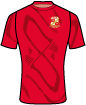 Swindon Town Football Club shirt