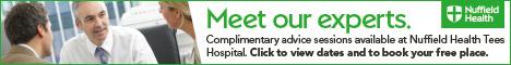 Nuffield Health Stockton on Tees