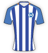 Brighton and Hove Albion WFC shirt